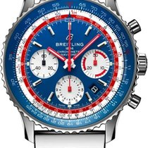 Breitling Navitimer 1 B01 Chronograph 43 new 2021 Automatic Chronograph Watch with original box ab01212b1c1a2 PAN AM