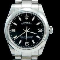 Rolex Oyster Perpetual 31 Acier 31mm Noir Arabes Belgique, Brussel