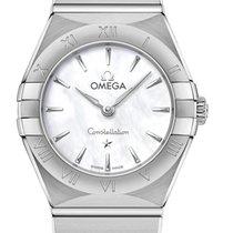 Omega Constellation Quartz 131.10.25.60.05.001 2020 new