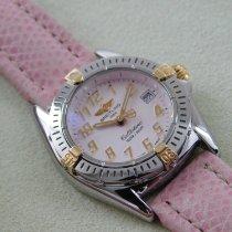 Breitling Callistino Gold/Stahl 29mm Pink Arabisch