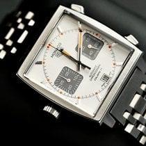 TAG Heuer Monaco Calibre 11 Steel 39mm Silver