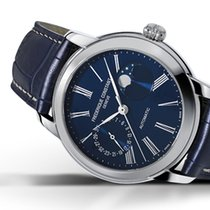 Frederique Constant Manufacture Classic Moonphase Steel 42mm Blue