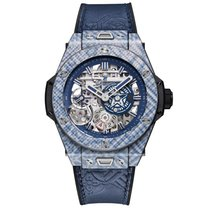 Hublot Big Bang Meca-10 nuevo Cuerda manual Reloj con estuche y documentos originales 414.YL.5179.VR.SHF18