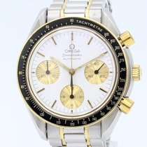 Omega Speedmaster Reduced Acero y oro 37mm Blanco Sin cifras España, Barcelona