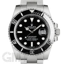 Rolex Submariner Date 40mm Чёрный