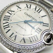 Cartier Ballon Bleu 36mm new Automatic Watch with original box and original papers