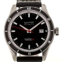 Eberhard & Co. Champion V Timeonly 43 Black Dial Date