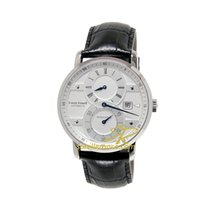 Louis Erard 42mm Automatic new Excellence Silver