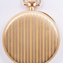 Zenith - Zenith pocket watch rare carving work - 18 kt Perfect...