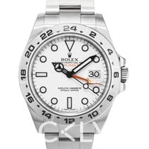 Rolex Explorer II White/Steel Ø42 mm - 216570