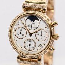 IWC Da Vinci Gold Uhr Chronograph Papiere Box 2002