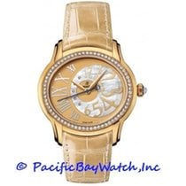 Audemars Piguet Yellow gold Automatic Mother of pearl 36mm pre-owned Millenary Ladies