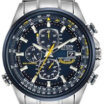 Citizen Steel 43mm Chronograph AT8020-54L new