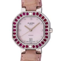 Clerc : Ladies Joaillerie Automatic :  9806-R :  Stainless steel