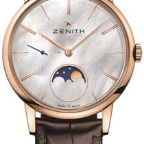 Zenith Elite Ultra Thin Rose gold 36mm Mother of pearl