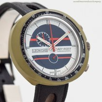 Leonidas Chronograph 45mm Manual winding 1970 pre-owned