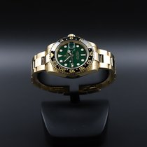 Rolex 116718LN Yellow gold 2015 GMT-Master II 40mm pre-owned United States of America, California, Costa Mesa
