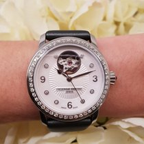 Frederique Constant Ladies Automatic Heart Beat Acier 34mm Nacre