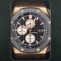 Audemars Piguet Royal Oak Offshore Chronograph Rose gold 44mm Black No numerals