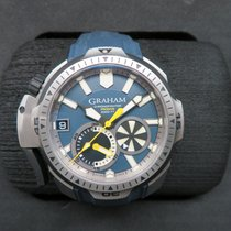 Graham Chronograph 45mm Automatic pre-owned Blue