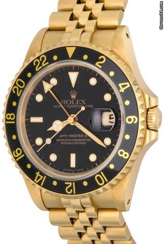 low priced fb7d6 ec1a2 Rolex GMT-Master II Model 16718