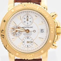 Montblanc Yellow gold 42mm Automatic 7053 pre-owned