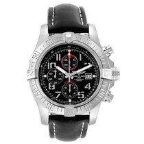 Breitling Super Avenger II Steel 48mm Black Arabic numerals United States of America, Georgia, Atlanta