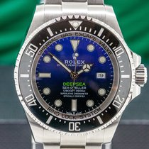 Rolex Sea-Dweller Deepsea 44mm Синий Aрабские