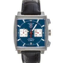 TAG Heuer Monaco Calibre 12 Steel 39mm Blue No numerals United States of America, Maryland, Baltimore, MD