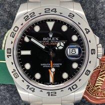 Rolex Explorer II Stål Svart