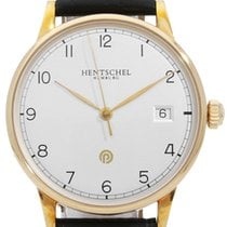 Hentschel Hamburg Or rose 36mm Remontage automatique ETA 2824-2 occasion
