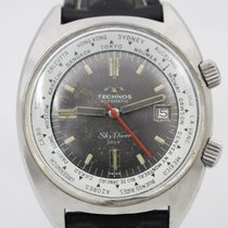 Technos Steel 40mm Automatic 30A0847 pre-owned