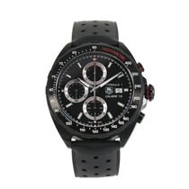 TAG Heuer Formula 1 Calibre 16 pre-owned 45mm Black Rubber