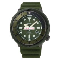 Seiko Prospex Steel 46.2mm Green No numerals