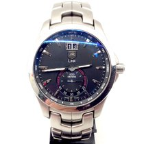 TAG Heuer Link Quartz Steel 40mm Silver No numerals