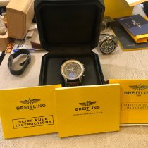 Breitling Montbrillant Datora Steel 43mm Brown No numerals