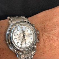 TAG Heuer 6000 41mm Silver No numerals