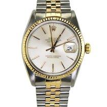 Rolex Datejust Gold/Steel 36mmmm White Arabic numerals United States of America, New York, New York