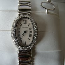 까르띠에 (Cartier) Baignoire Women's white Gold watch