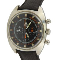 Tissot Chronograph 42mm Manual winding 1970 pre-owned Black