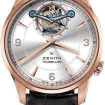 Zenith Elite Tourbillon Rose gold Silver United States of America, New York, Brooklyn