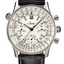 Sinn 903 St Silver Navigation Chronograph NEW