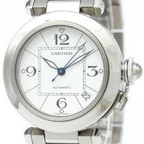 까르띠에 (Cartier) Pasha C Steel Automatic Unisex Watch W31074m7...
