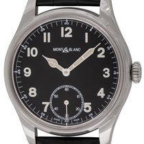 Montblanc : 1858 Hand Wind :  MB113860 :  Stainless Steel