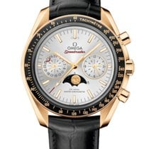 Omega Speedmaster Professional Moonwatch Moonphase 44mm Plata