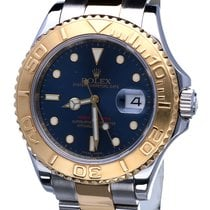 Rolex Oyster Yacht-Master Gold Steel Blue Dial 40 mm (Full Set)