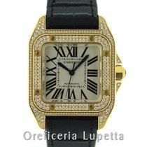Cartier Santos 100 Medio Diamonds 2880
