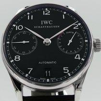 IWC Portuguese Automatic Steel Black Arabic numerals United States of America, Texas, Houston