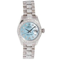 Rolex Lady White Gold Diamond Datejust