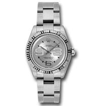 Rolex Oyster Perpetual 31 Steel 31mm Silver Arabic numerals